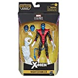 Marvel Legends Series 6-inch Action Nightcrawler Toy (X-Men/X-Force Collection) - with Wendigo Build-a-Figure Part