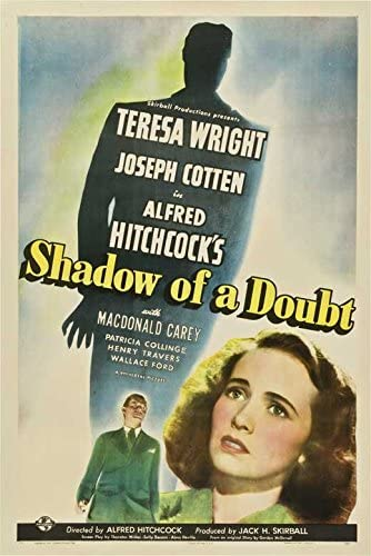 Amazon.com: Pop Culture Graphics Shadow of a Doubt Poster Movie C ...