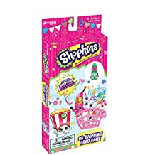 Pressman Toy Shopkins Go Shopping Card Game with Exclusive Shopkins Figure