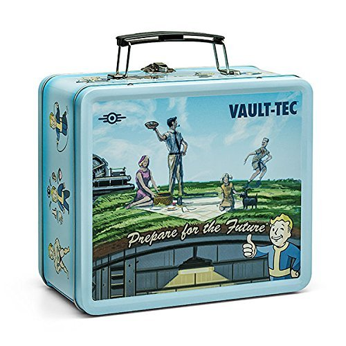 FanWraps Fallout Shelter Vault-Tec Prop Replica Tin Tote (Best Weapons In Mass Effect 1)
