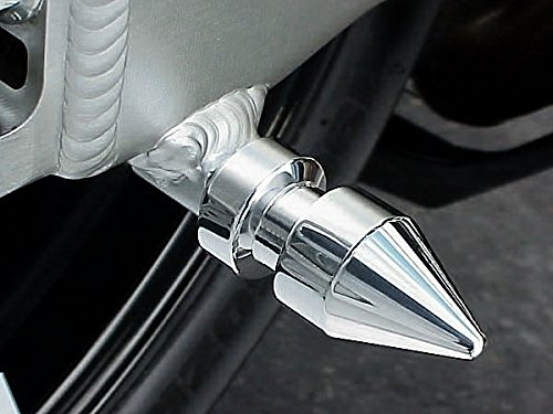 i5 CHROME SPIKE SWINGARM SPOOLS for Suzuki GSX 250 250R GSXR600 GSXR750 GSXR1000 GSXS GSXR 600 750 1000 SV 650 SV650 SV650S SV1000 TL1000 TL TLS TLR Hayabusa
