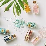 KHOCOEE 12 Different Gemstone Bottles Chip Crystal