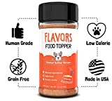 Beaumont Basics Flavors Natural, Human Grade, Grain Free Food Topper, Seasoning, Gravy, Sprinkle and Treat Mix for Dogs