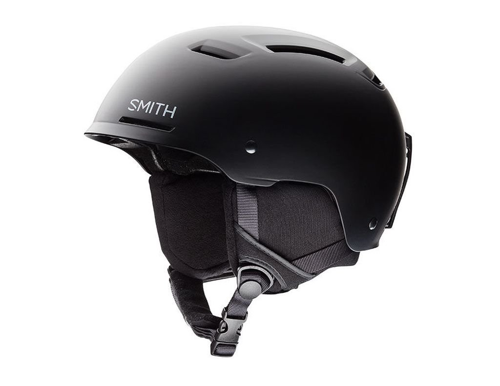 Smith Optics Pivot Adult Ski Snowmobile Helmet - Matte Black / X-Large by Smith Optics