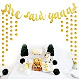 She-Said-Yaaas-Banner-Gold-Glitter-Party-Supplies-Bachelorette-Parties-Decorations