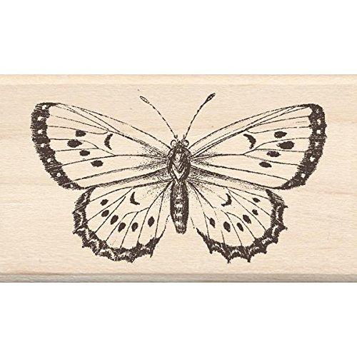 Inkadinkado Wood Stamp, Big Butterfly