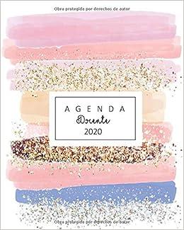 agenda docente 2020: linda agenda docente para estar ...