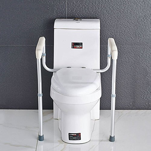 YAOHAOHAO Aluminum Alloy Toilet Armrest Safety Non-slip Be Applicable Old Man Pregnant Women by YAOHAOHAO