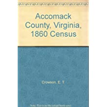 Accomack County, Virginia, 1860 Census