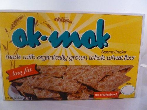 Ak-mak Stone Ground Whole Wheat Sesame Cracker - 3 Pack