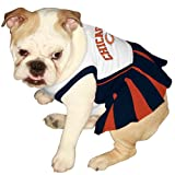 Pets First CHI-4007-SM NFL Chicago Bears Dog Cheerleader Dress, Small, My Pet Supplies