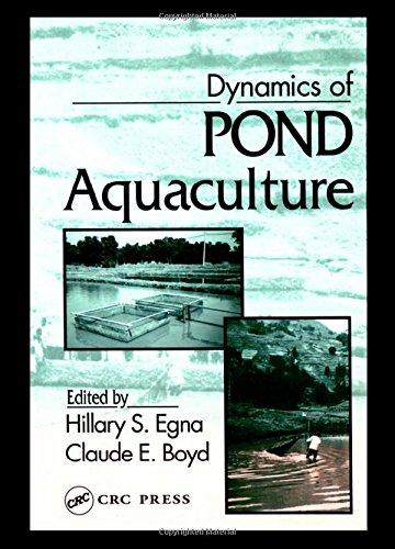 Dynamics of Pond Aquaculture - Egna, Hillary S.; Boyd, Claude E.