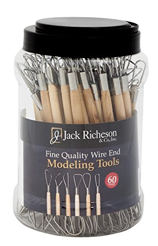 Jack Richeson 210564 Wire End Tool Canister (Set of 60)