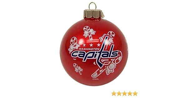 Amazon.com : WASHINGTON CAPITALS OFFICIAL TEAM LOGO GLASS BALL CHRISTMAS  ORNAMENT : Sports Fan Hanging Ornaments : Sports & Outdoors - Amazon.com : WASHINGTON CAPITALS OFFICIAL TEAM LOGO GLASS BALL