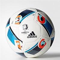 adidas Herren Ball EURO 2016 Mini, White/Bright Blue/Night Indigo, 1, AC5427