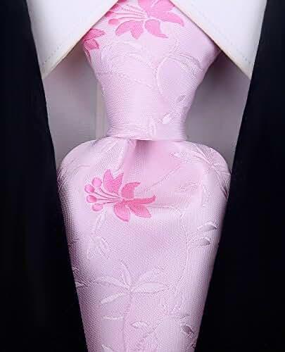 Scott Allan Mens Floral Necktie