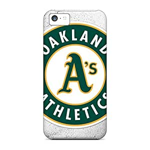 Great Hard Cell-phone Case For Iphone 5c (GDw19806fbGY) Provide Private Custom Colorful Oakland Athletics Skin