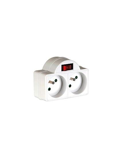 Arcotec 274682 Prise Biplite 16 A avec Interrupteur
