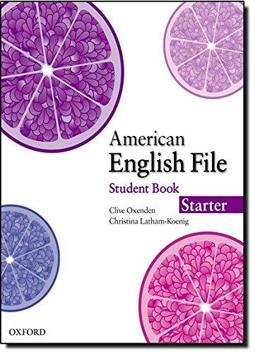 American English File Starter Student Book