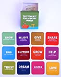 toolbox refrigerator - Refrigerator Magnets 12 Piece Family Tool Box Gift Set in a Designed Package By Tsoomi, Original & Creative for Friends and Loved Ones Suitable for Kitchen Decoration, White boards Office and More