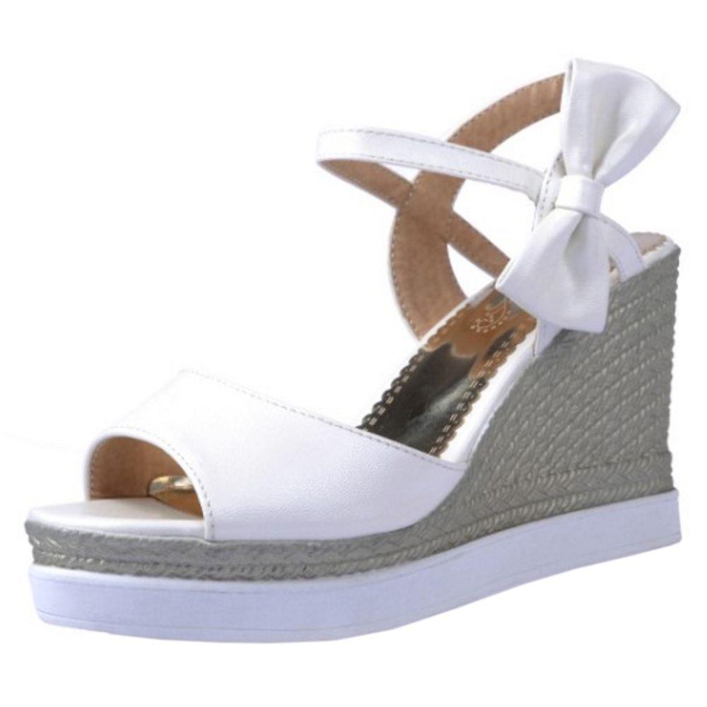 Coolcept Femmes D été B00IP0QEL6 Sandales Peep Toe Blanc Plate-Forme Espadrille D Lanière Cheville Chaussures Talon Compensé Blanc fcfcd7e - digitalweb.space