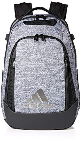 Adidas Star - adidas 5-Star Team Backpack, Onix Jersey, One Size