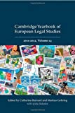 Cambridge Yearbook of European Legal Studies 2011-2012, , 1849463530
