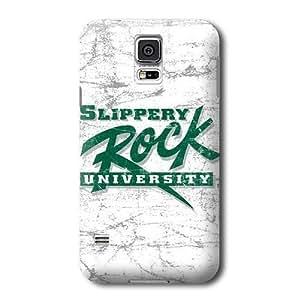 Allan Diy S5 case cover, Schools - Slippery Rock University - Distressed - Samsung Galaxy S5 case cover - High Quality PC ev8xcjrIq7X case cover