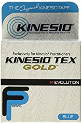 Kinesio® Tex GoldTM Tape TWO Rolls 2 x 16.4 Blue