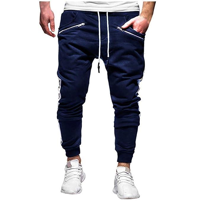 Qmber Herren Cargo Hose Jogging Pants Chino Arbeitskleidung