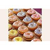 Gluten Free Mini Vanilla Donuts Mix with Glaze