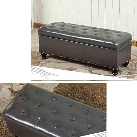 Wondrous Amazon Com Ycsd Faux Leather Storage Bench With Lift Top Machost Co Dining Chair Design Ideas Machostcouk