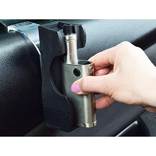 VAPOR-LOK Universal E-Cigarette Vapor Holder for Cars & Trucks, Tube Mods, Box Mods, Vape Pens, Minis