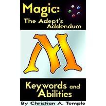 Magic: The Adept's Addendum: Keywords and Abilities