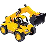 Trator Constructor BS Toys Amarelo