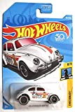 Hot Wheels 2018 50th Anniversary Checkmate Volkswagen Beetle (Pawn) 364/365, White