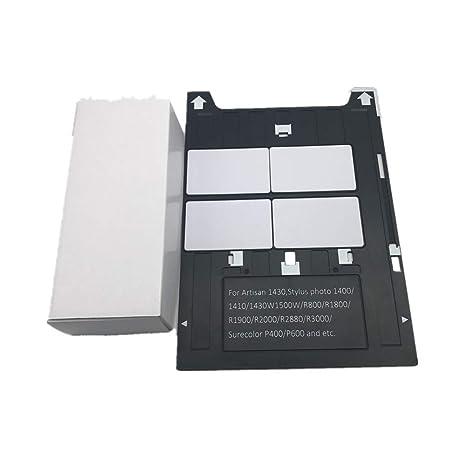 PVC tarjeta pritning bandeja para impresoras Epson A3 1400 ...