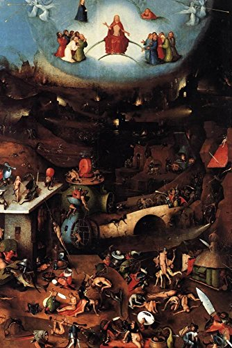 (ArtEdge the Last Judgment Center Panel Hieronymus Bosch Poster Print, 18