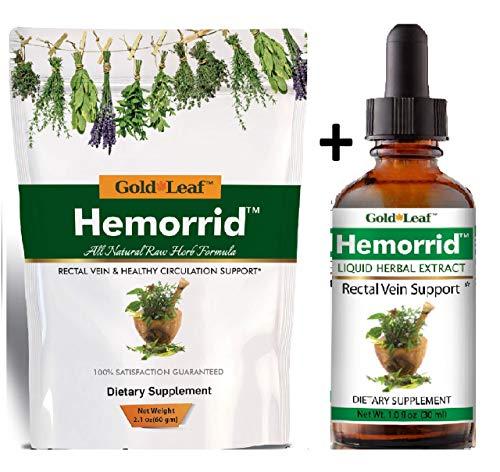 - #1 Hemorrhoid Treatment for bleeding, internal, external hemorrhoids, targeted all natural formula for fast relief