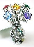 Crystocraft - Tulipani di cristallo Swarovski in vaso di cristallo