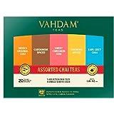 VAHDAM, Chai Tea Sampler, 5 TEAS - Tea Variety Pack | Assorted Chai Tea Bags | Cardamom Tea Bags, Cinnamon Tea Bags…