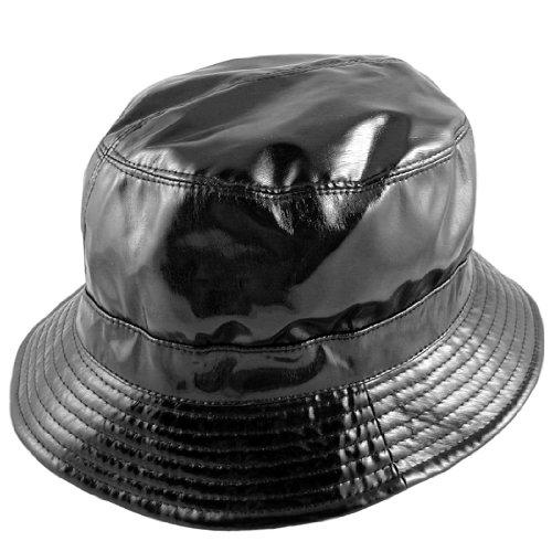 sur la tete Vinyl Rain Bucket Hat