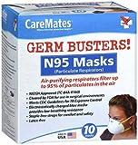 CareMates N-95 Respirator Mask - 10 ct, Pack of 5