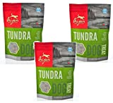 Orijen Tundra Freeze-dried Dog Treats, 3.5-oz Bag (Pack of 3)