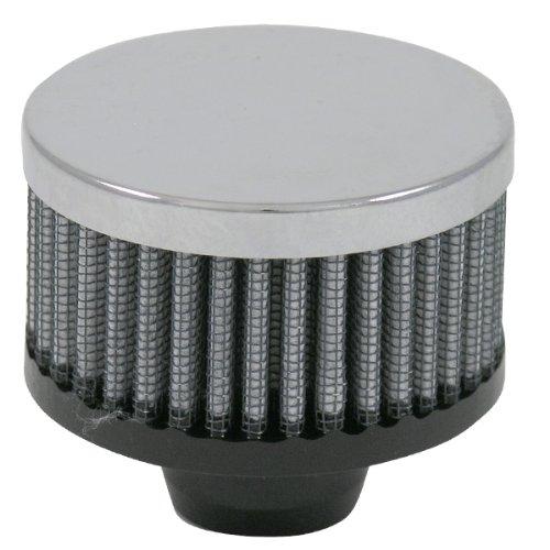 S&B Push-In Crankcase Vent Filter w/ Chrome Top, 3