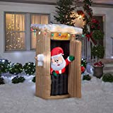 Airblown Animated Santa