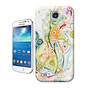 Unique Phone Case Flower ART ORIGINAL ABSTRACT Hard Cover for samsung galaxy s4 cases-buythecase