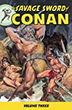 img - for The Savage Sword of Conan Volume 3 (v. 3) book / textbook / text book