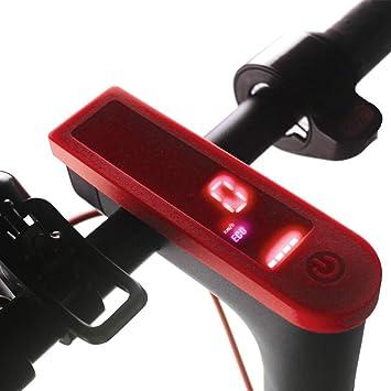 SMILEQ Panel de Tablero de Tablero a Prueba de Agua para Xiaomi M365 Scooter eléctrico