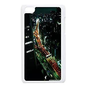 Ipod Touch 4 Case, Hardshell tokyo Case For Ipod Touch 4 {White}